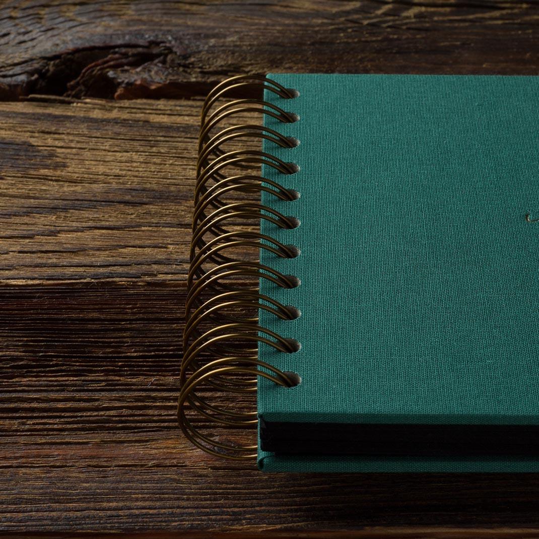 Album na zdjęcia MINI BLACK25 morska zieleń miłość