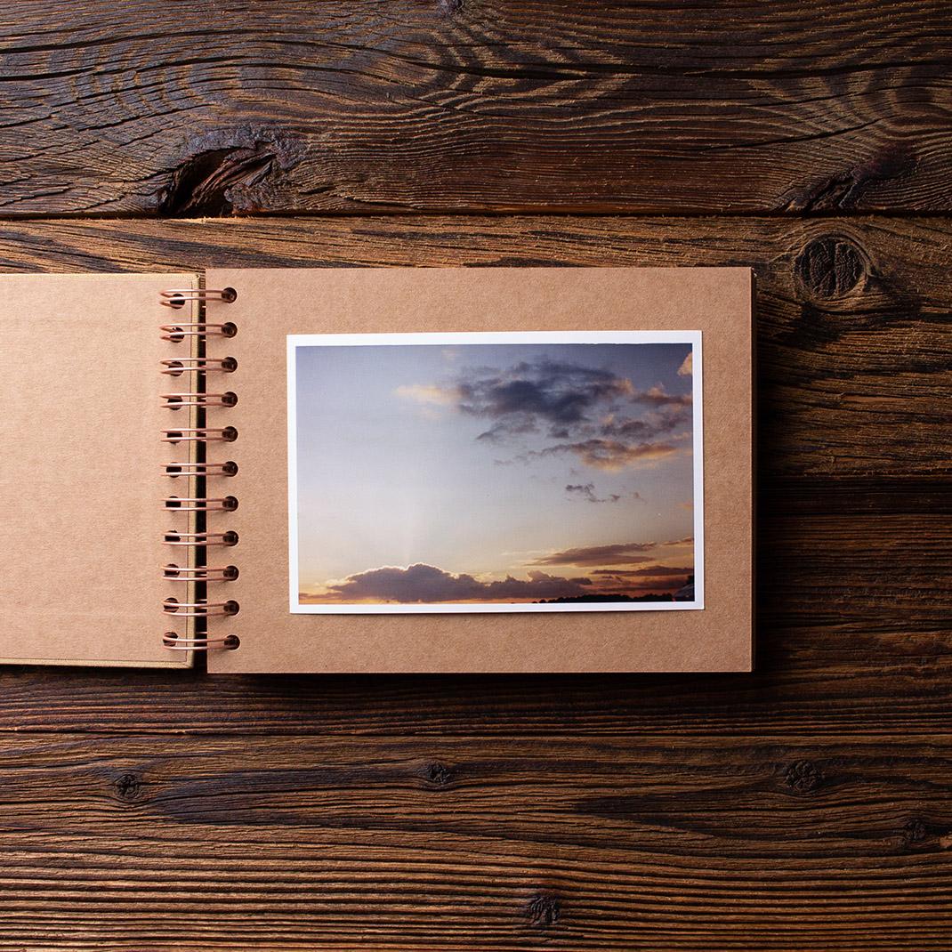 Album na zdjęcia MINI KRAFT25 złoto moments