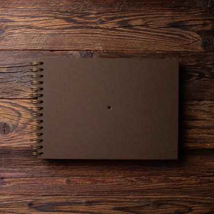 Album na zdjęcia SMALL BLACK30 brąz serce