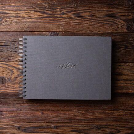 Album na zdjęcia SMALL BLACK30 grafit miłość