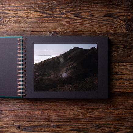 Album na zdjęcia SMALL BLACK30 morska zieleń serce
