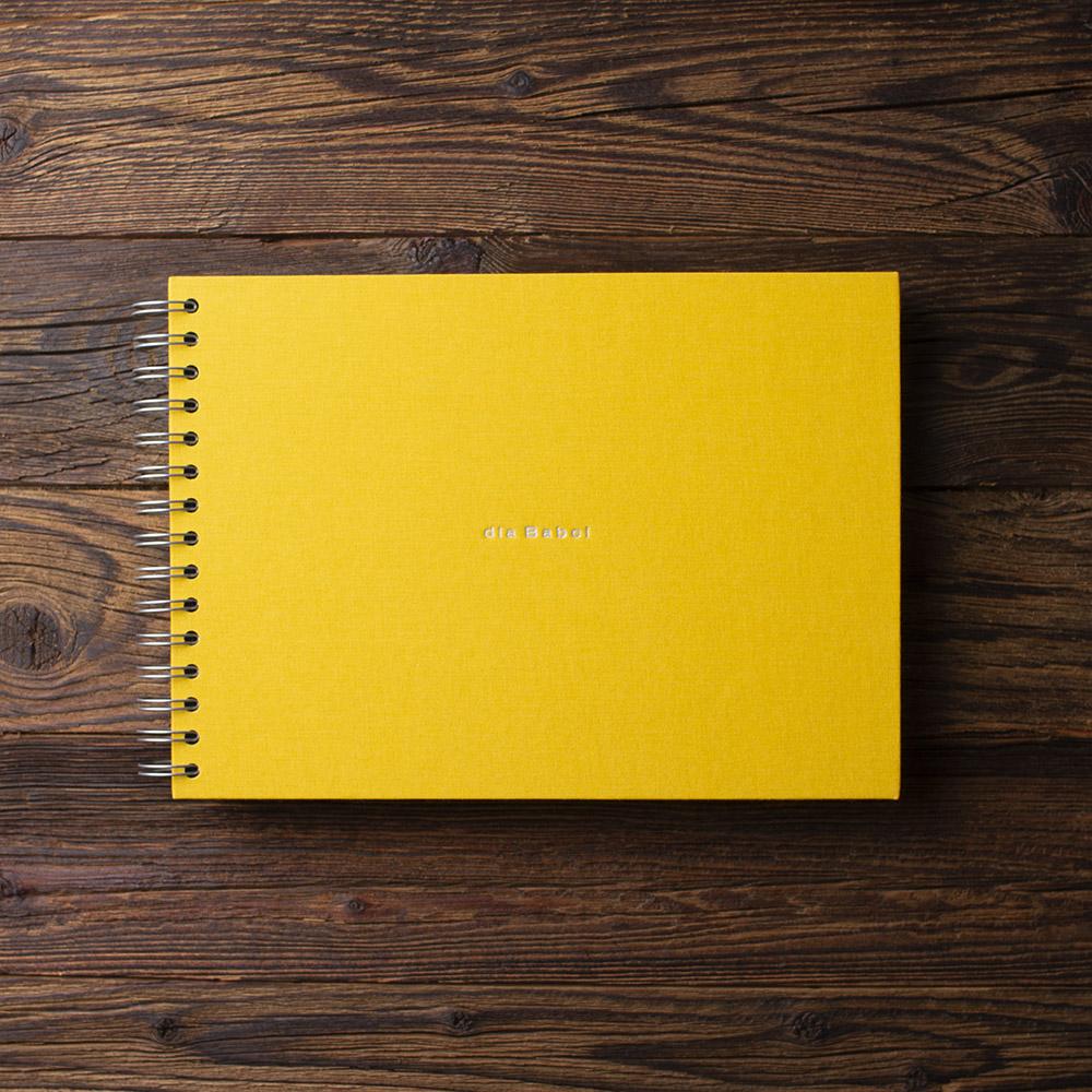 Album na zdjęcia SMALL BLACK30 żółty dla babci