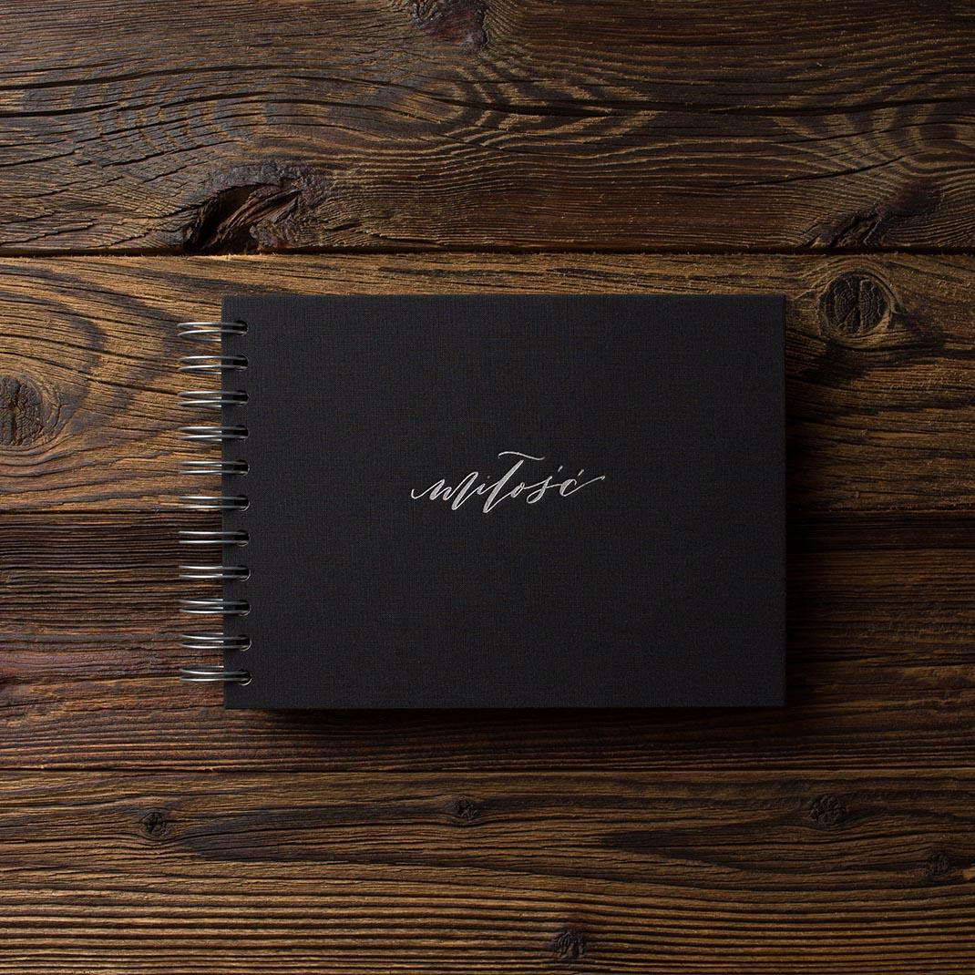 Album na zdjęcia MINI BLACK25 czerń miłość