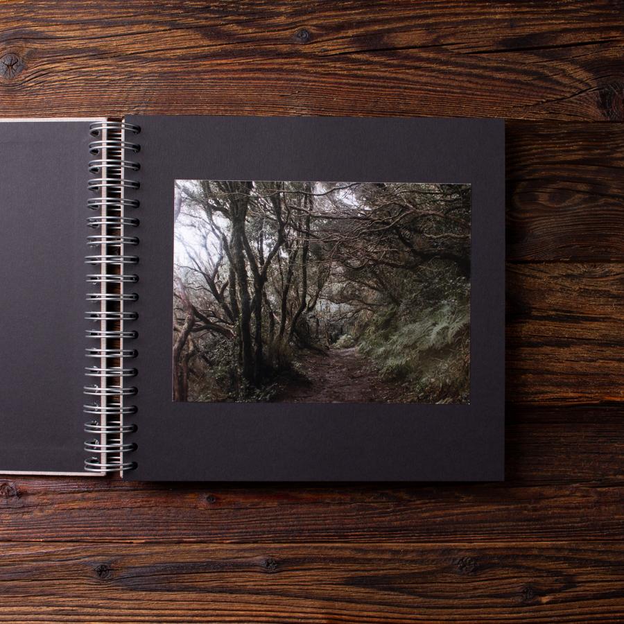 Album na zdjęcia MEDIUM KRAFT40 naturalny miłość