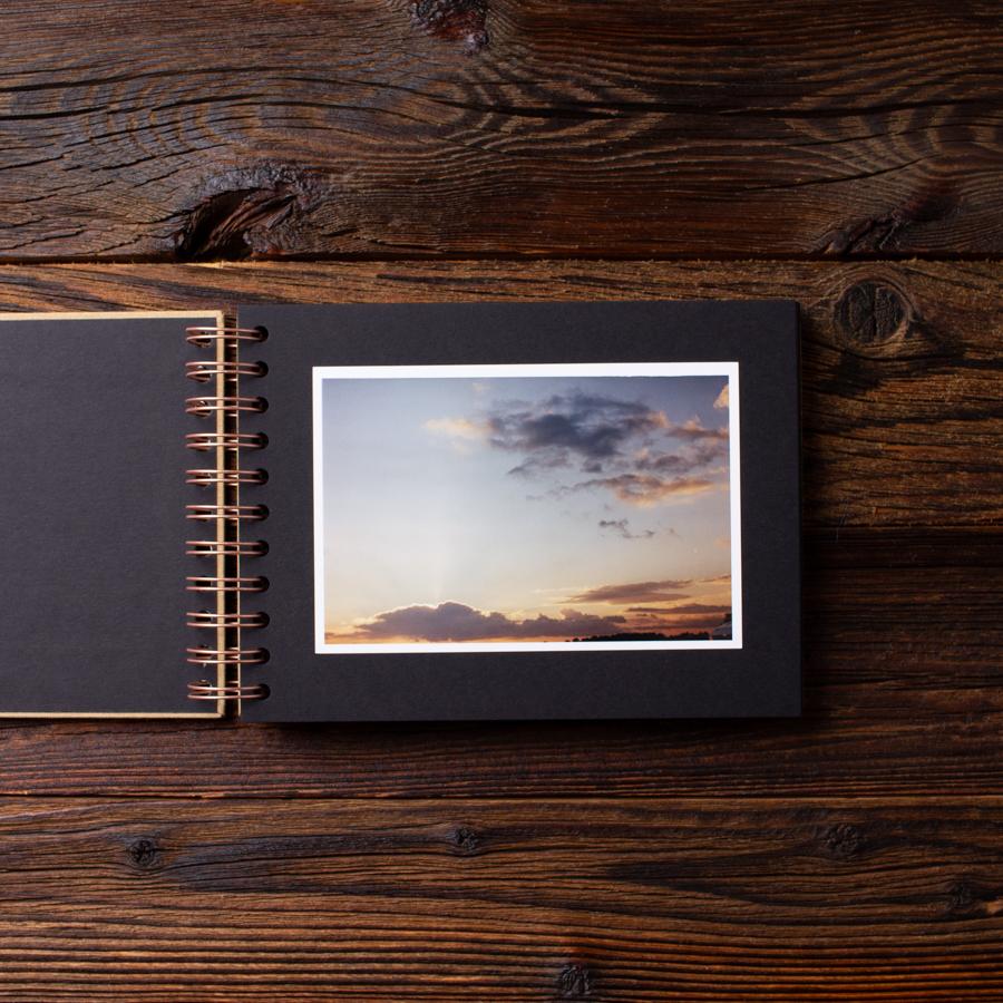Album na zdjęcia MINI BLACK25 złoto moments