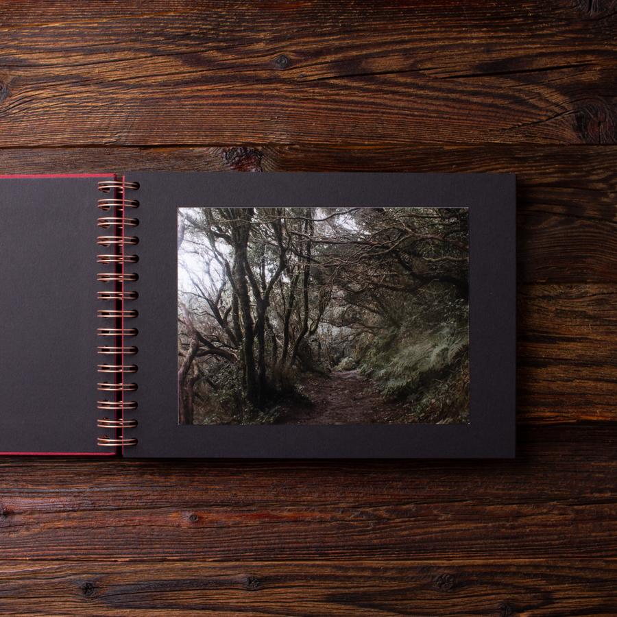 Album na zdjęcia SMALL BLACK30 bordo moments