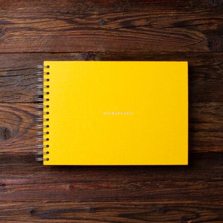 Album na zdjęcia SMALL BLACK30 żółty dla babuszki