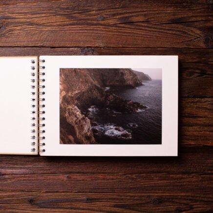 Album na zdjęcia SMALL ECRU30 złoto summer time